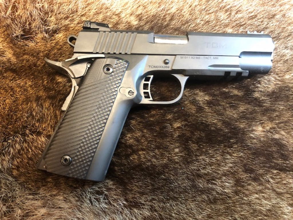 Rock Island Armory TCM Tac Ultra MS Combo High Cap 1911 A2 Pistol Review